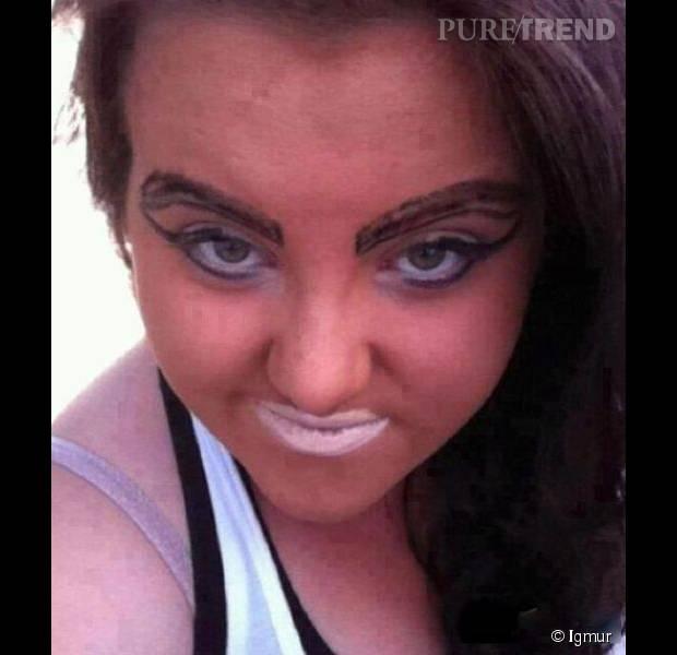 Le rouge à lèvres trop nude.