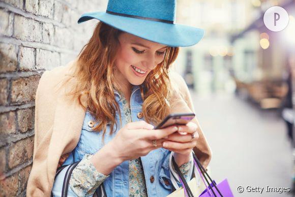 Aujourd'hui, l'heure est au shopping en ligne.