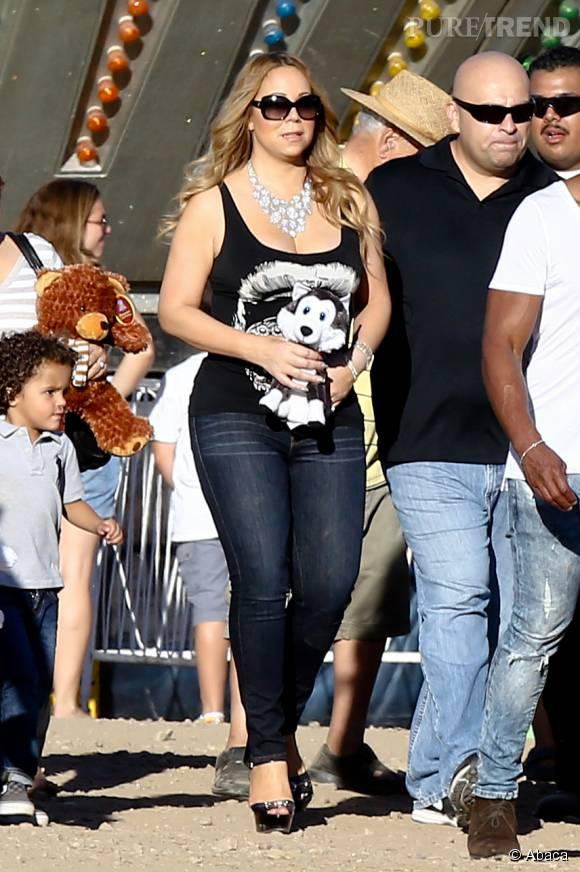 Mariah Carey au Malibu Chilli Cook Off le 7 septembre 2015 à Los Angeles.