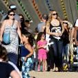 Mariah Carey plus bling que jamais au Malibu Chilli Cook Off le 7 septembre 2015 à Los Angeles.