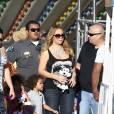 Mariah Carey essuie un joli flop mode le 7 septembre 2015 à Los Angeles.