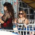 Mariah Carey, une grande enfant au Malibu Chilli Cook Off le 7 septembre 2015 à Los Angeles.