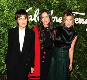 Demi Moore et ses filles, Tallulah et Scout Willis, un trio de choc.