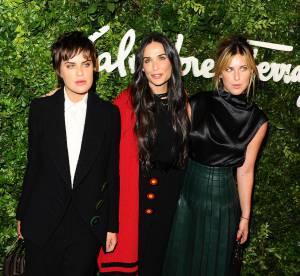 Demi Moore et ses filles : un trio de choc et de charme sur le tapis rouge