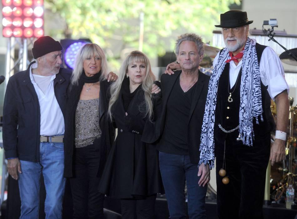 Fleetwood Mac est à la 3ème place avec 59,5 millions.