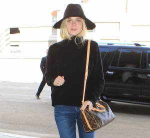 Elle Fanning : son look cosy/chic à shopper !