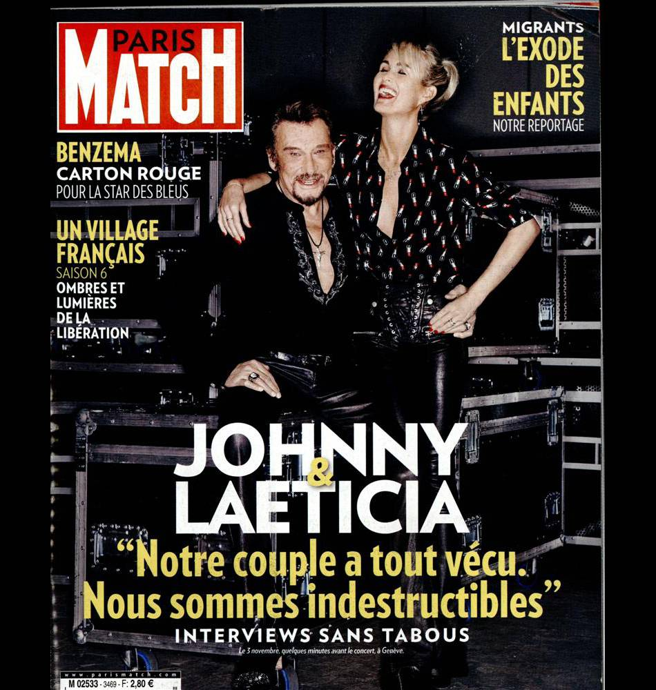 monica bellucci se confie dans les pages du paris match de cette semaine actuellement dans les. Black Bedroom Furniture Sets. Home Design Ideas