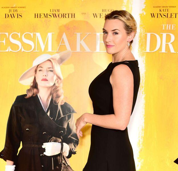 """Kate Winslet lors de la projection de """"The dressmaker"""" à Londres le 11 novembre 2015."""