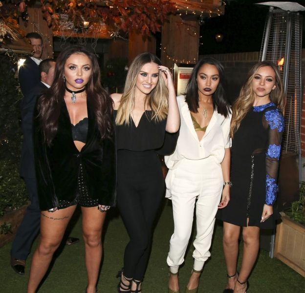 Les Little Mix sur leur 31 pour la soirée de lancement de leur dernier album.
