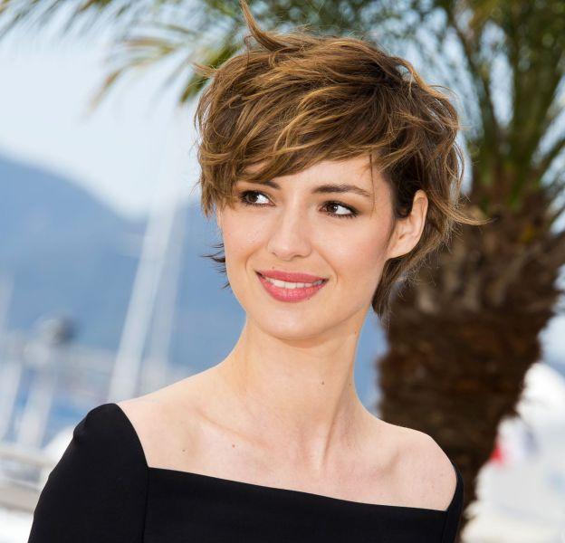 Coupe de cheveux courte actrice