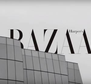 Shooting photo d'Irina Shayk pour Harper's Bazaar Espagne.