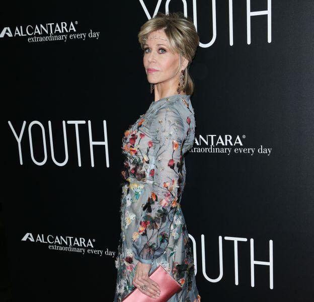 """Jane Fonda à la première de """"Youth"""" à Los Angeles le 17 novembre 2015."""