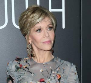 Jane Fonda, un look très bohème.