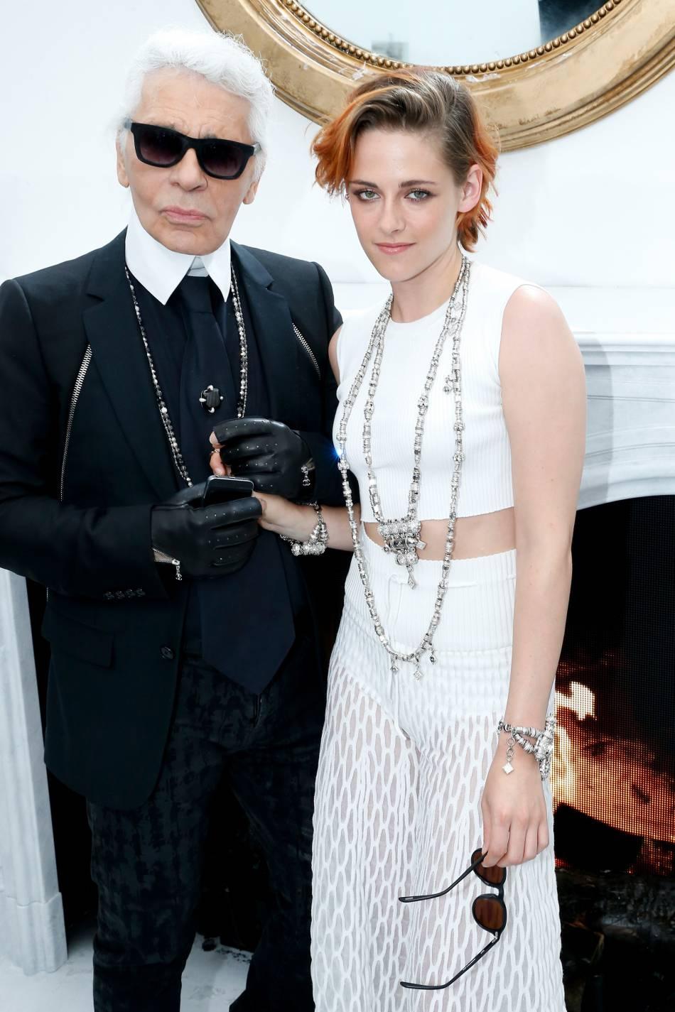 Kristen Stewart, la nouvelle Gabrielle Chanel de Karl Lagerfeld.