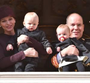 Prince Jacques et princesse Gabriella : les adorables bébés au balcon du Palais