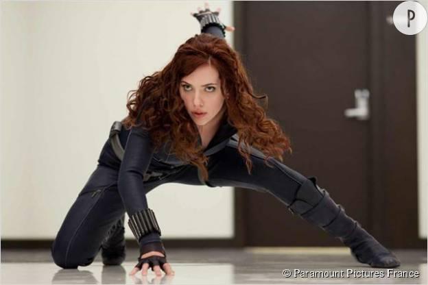 "Scarlett Johansson dans ""Iron Man 2""."