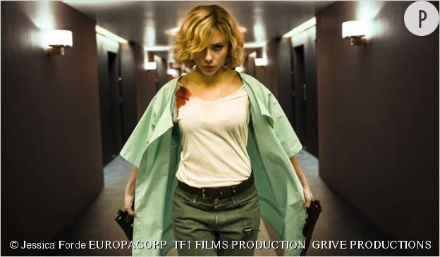 "Scarlett Johansson dans ""Lucy"", de Luc Besson."