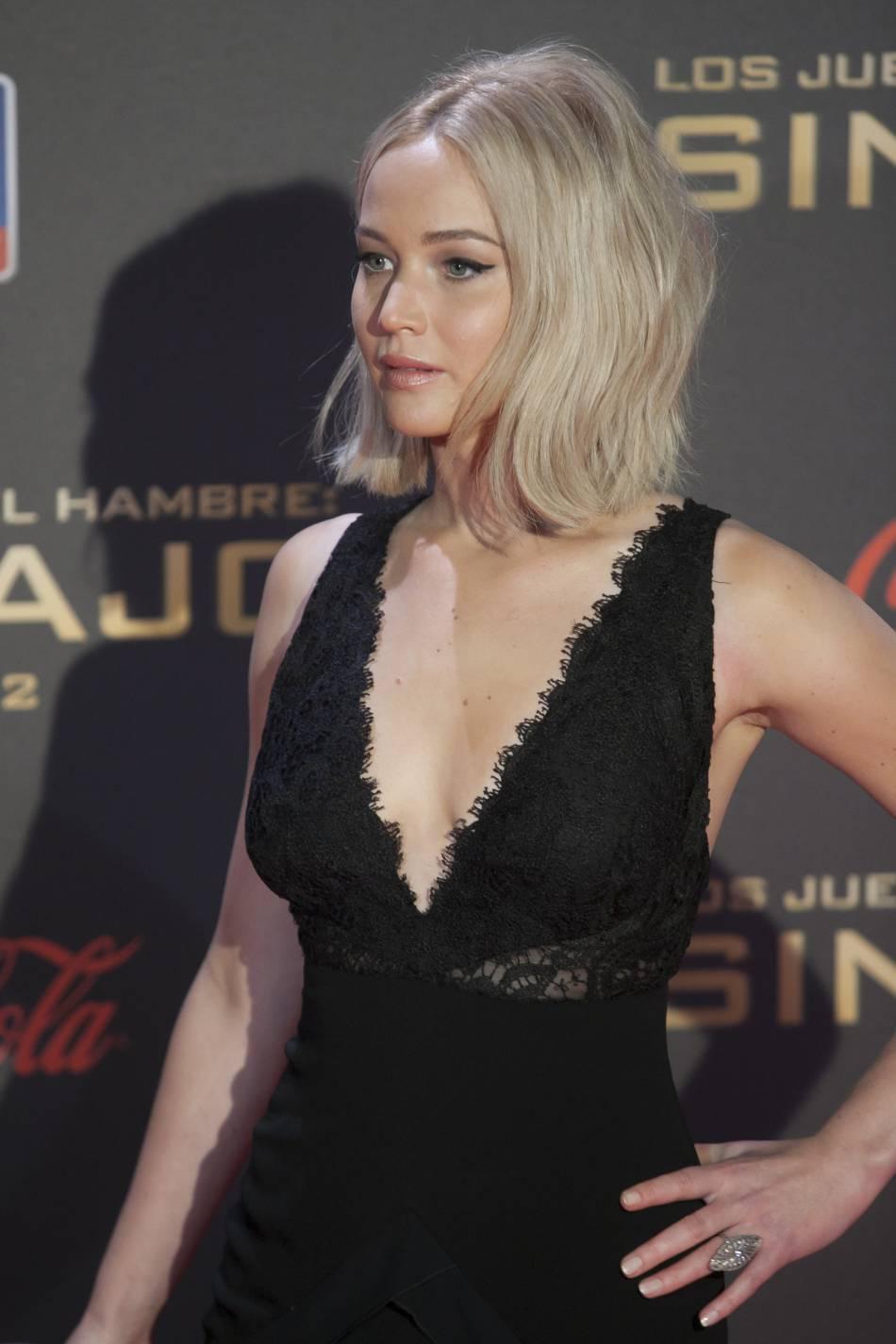Jennifer Lawrence, les chutes et les bourdes elle connaît.
