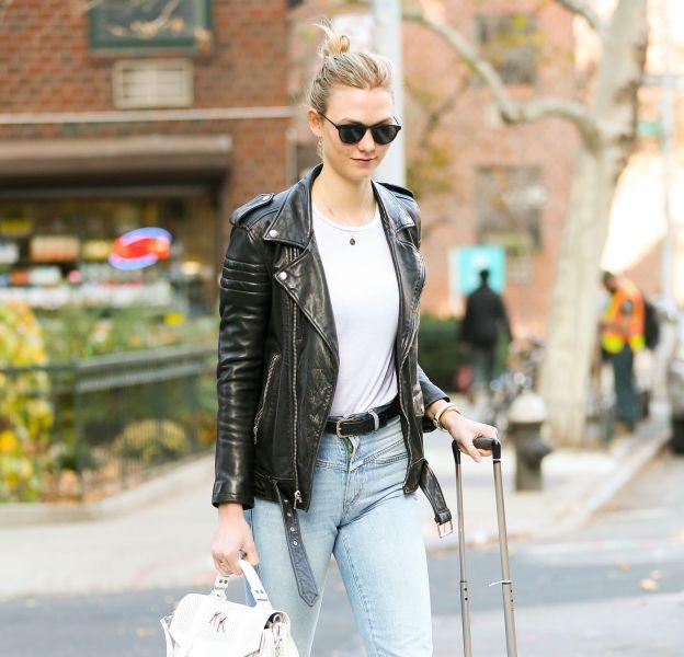 Karlie Kloss, tendance et casual dans les rues de New York.