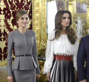 Letizia Ortiz VS Rania de Jordanie : duel de reines sexy à Madrid