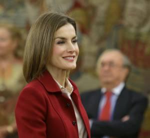 Letizia d'Espagne en tailleur déprimant : rechute d'une reine en manque d'audace