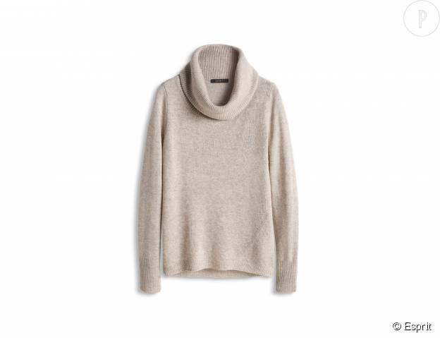 Pull en laine mélangée Esprit, 69,99€.