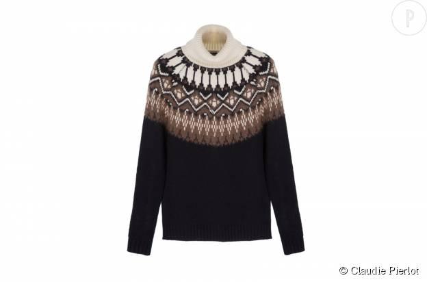 """Pull """"Mariage"""" Claudie Pierlot en laine mélangée, 245€."""