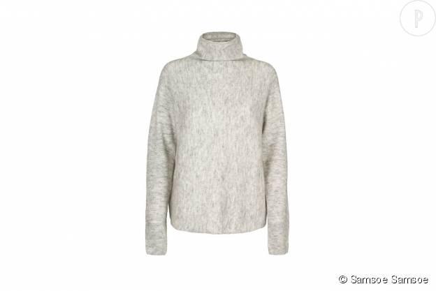 Pull en laine mélangée Samsoe Samsoe, 99€.