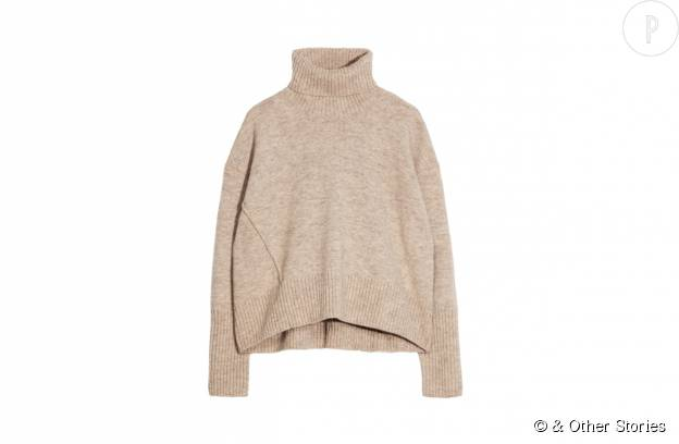Pull en laine et polyamide & Other Stories, 85€.
