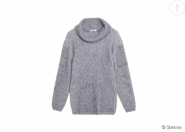 Pull en laine mélangée Suncoo, 85€.