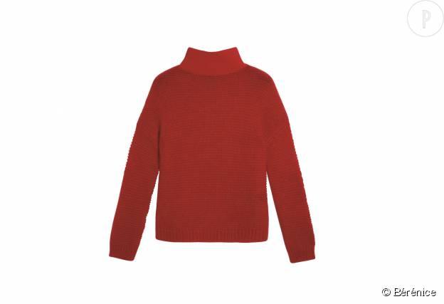 "Pull ""Jeemy"" Bérénice en laine, mohair et nylon, 190€."