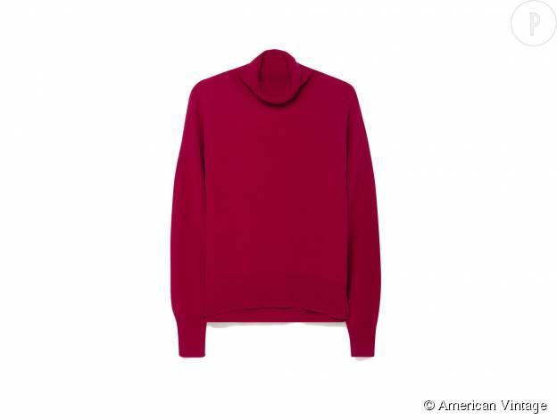 """Pull """"Apyroad"""" American Vintage en laine, 115€."""