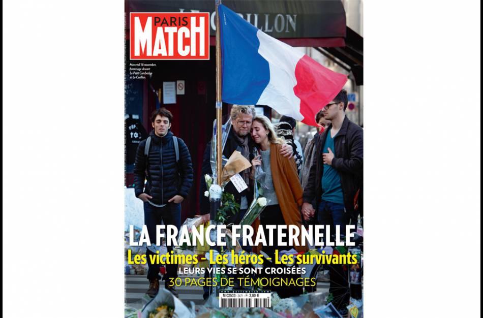 L'intégralité de l'interview de Sandrine Bonnaire est à retrouver dans le dernier numéro de  Paris Match , actuellement dans les kiosques.