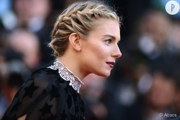 Sienna Miller à Cannes 2015.