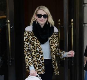"""Emma Roberts : coup de génie en léopard pour la """"Scream Queen""""... À shopper !"""