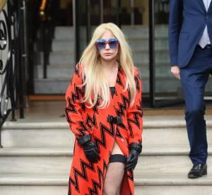 Lady Gaga, nue sous son manteau ? Petit coup de provoc à Londres