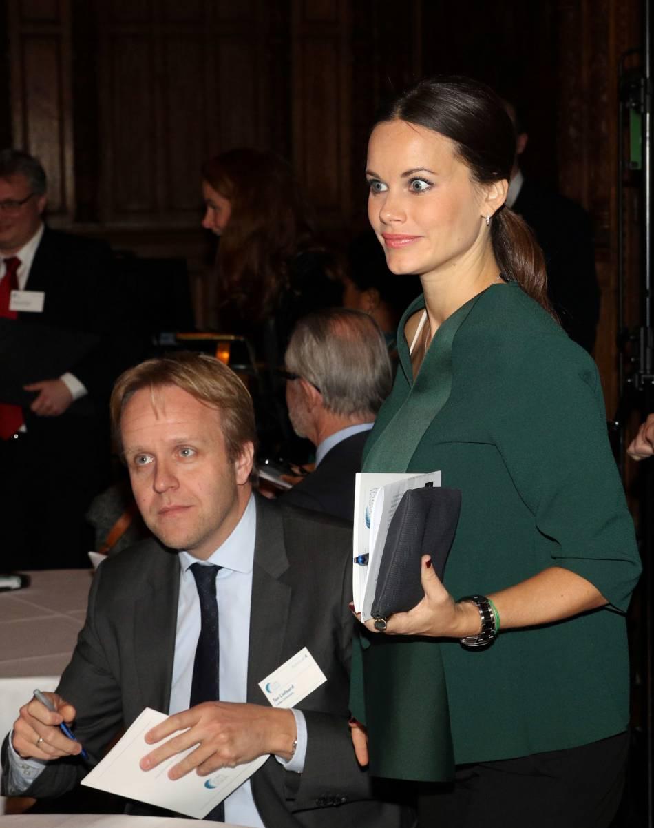 De profile, il est évident que la princesse Sofia attend un heureux évènement. Elle ne peut plus le cacher !