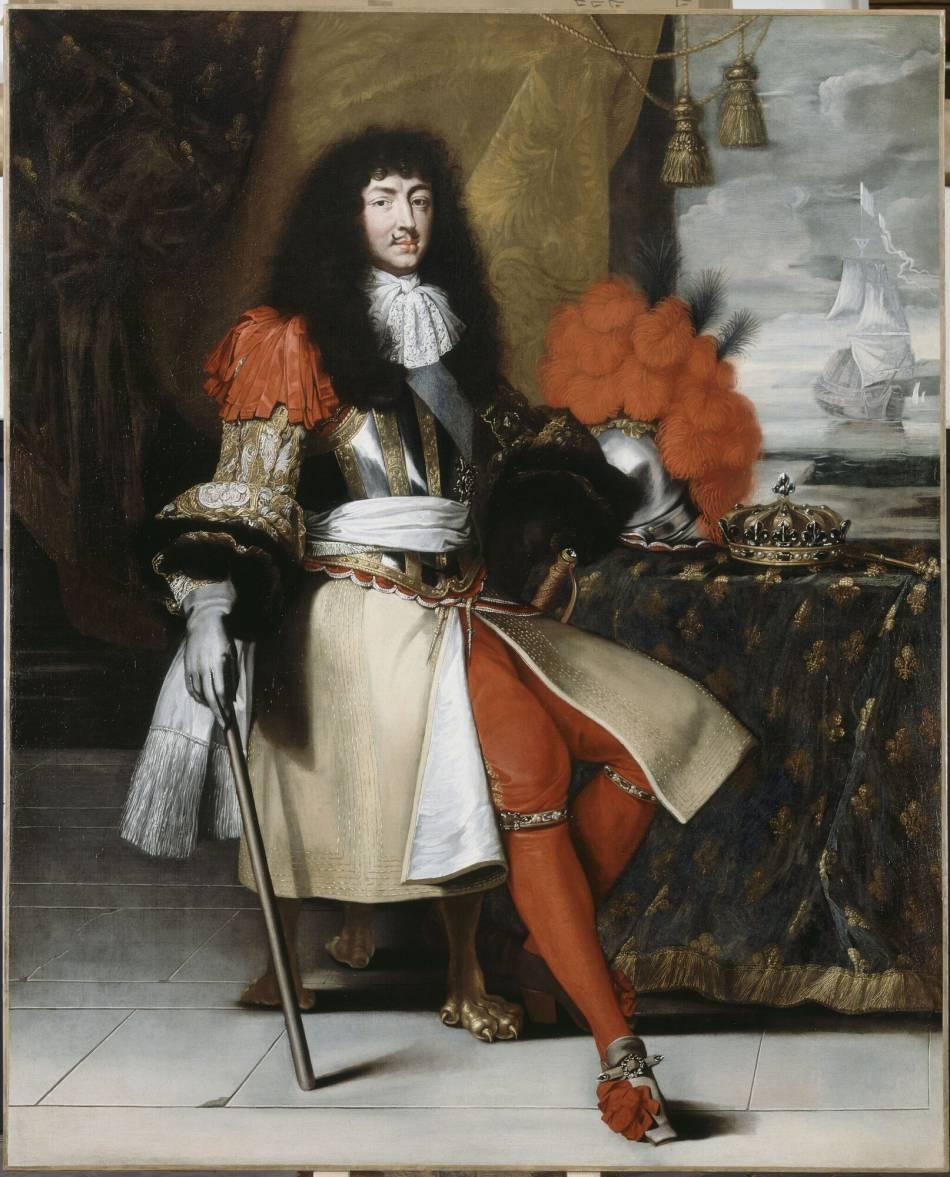 Très Louis XIV adorait la mode et était un véritable fan des chaussures  IP71