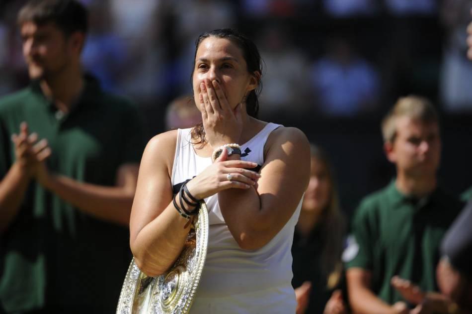 Marion Bartoli a remporté Wimbledon en 2013 et a pris sa retraite juste après.