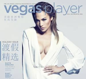 Jennifer Lopez, décolletée de folie pour annoncer son arrivée à Las Vegas