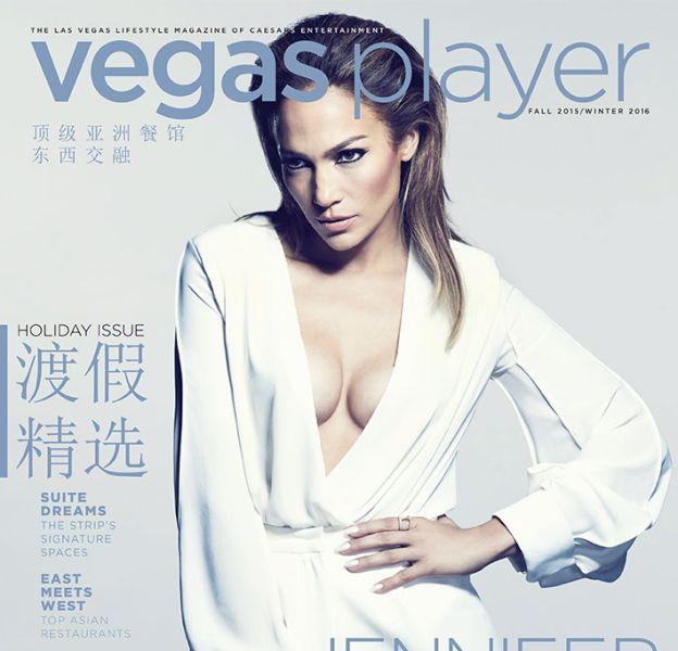 Jennifer Lopez en une de Vegas Player Automne-Hiver 2015/2016.
