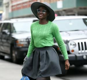 Lupita Nyong'o : le look hivernal rétro et coloré...à copier !