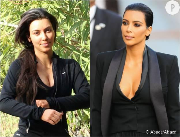 Maquillage jour et nuit - Comment faire le maquillage de kim kardashian ...