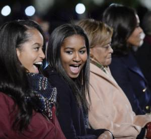 Malia et Sasha Obama : duo ravissant et complice à la Maison Blanche
