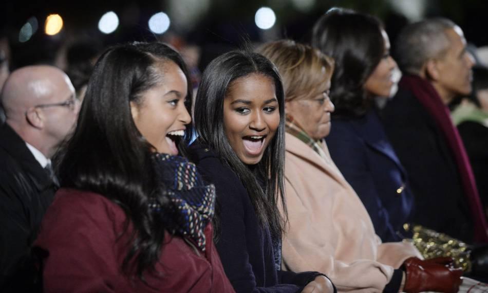 Malia et Sasha Obama sont deux soeurs très complices.
