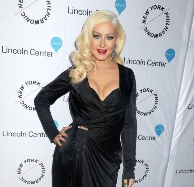 Christina Aguilera à la soirée Sinatra Voice for A Century au David Geffen Hall du Lincoln Center le 3 décembre 2015 à New York.