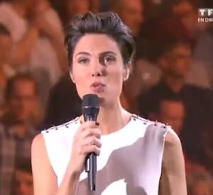 Alessandra Sublet recadrée par Patrick Bruel