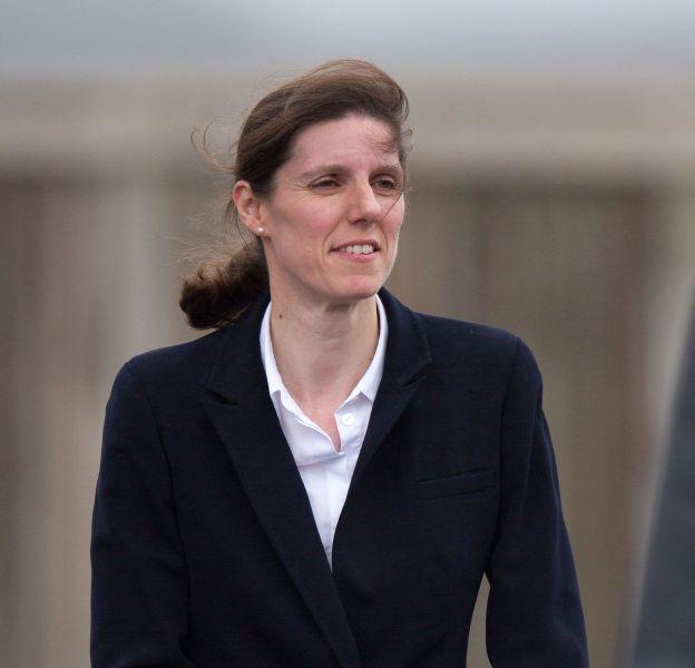 "Maria Borrallo, alias ""supenanny"" pour les Britanniques."
