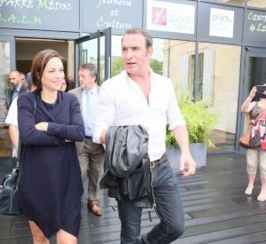 Jean Dujardin et Nathalie Péchalat sont ensemble depuis un an et demi.