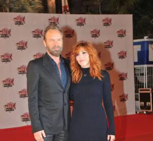"""Mylène Farmer assure la promotion de """"Stolen Car"""", le titre qu'elle a enregistré avec Sting."""
